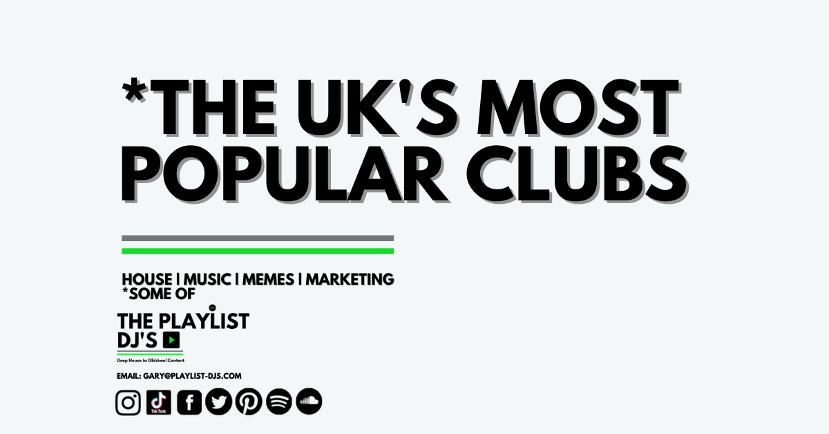 The UK's Most Popular Clubs